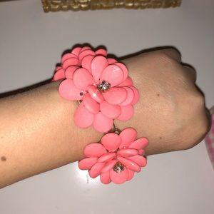 J. Crew flower bracelet